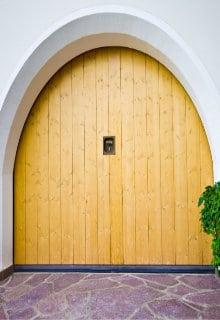 houten garagedeur