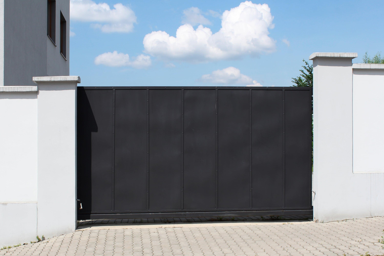 tuinpoort zwart